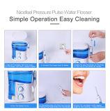 世帯の口頭心配舌の洗剤が付いている紫外線超マウス洗浄のウォータージェットの歯ブラシ