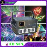 低価格1W RGB DMX DJはレーザー光線を上演する