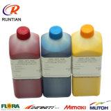 Tinta del Eco-Solvente de Quanlity de la tinta blanca de la impresora de inyección de tinta alta
