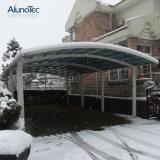 Housse de toit en aluminium double en polycarbonate extérieur