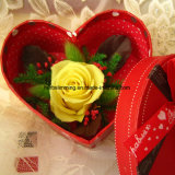 Сохраненный цветок Rose материальный декоративный искусственний, поддельный цветок Rose