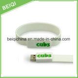 Het Horloge van de Manchet USB van het silicium 2GB, RubberArmband USB 4GB, de Aandrijving van de Flits van de Manchet USB 2GB
