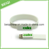 Вахта 2GB USB Wristband кремния, резиновый USB 4GB браслета, привод 2GB вспышки Wristband USB