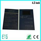 4.3inch Visitenkarten, videogruß-Karten, Visitenkarte mit LCD