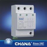 Dispositif de protection triphasé de saut de pression de parafoudre à C.A. de C.C avec RoHS, IEC61643-1 reconnu