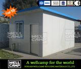 Simple instalar la casa prefabricada del panel de emparedado