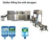 Automatische Bottelende het Vullen van het Drinkwater van het Vat van 5 Gallon Installatie voor 450bph