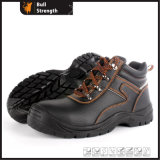 Industriële Leather Safety Shoes met Pu Sole (SN5452)