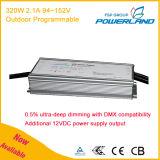Driver costante corrente costante programmabile esterno 320W 94~152V di tensione LED