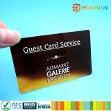 tarjeta inteligente del boleto ultraligero del papel fino E de 13.56MHz MIFARE para el metro