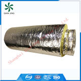 Doppelte Schicht-flexibles Leitung Isoliersoem (Glaswolle-Isolierung)
