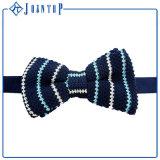 PUNTINO di Polka di giovane stile e legame di arco lavorati a maglia superiori di griglia