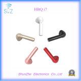 Nuevo auricular de Hbq I7 del receptor de cabeza del estilo de la manera para el iPhone del teléfono móvil con la radio