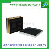 カスタム塗被紙のギフトの好意の宝石類の包装の肩ボックス