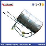 Berço resistente do cilindro das rodas com punhos de aço