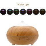 отражетель Aromatherapy деревянного зерна эфирного масла 300ml ультразвуковой