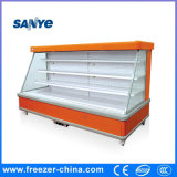 Refrigerador aberto de Multideck do supermercado Semi elevado