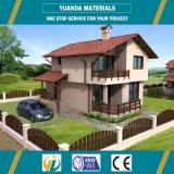 Material y almacén, chalet, edificios comerciales prefabricados del panel de emparedado del uso de la oficina
