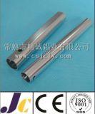 Helles Silber anodisiertes Aluminiumrohr, rundes Aluminiumrohr (JC-C-90040)