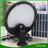 Las lámparas solares de gran alcance IP65 del jardín impermeabilizan la lámpara al aire libre del camino de la luz de la seguridad de la yarda del sensor de movimiento de 56 LED (el panel solar incorporado de 3 W de + el panel solar adicional 5 W)