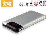 batería portable de la potencia del teléfono móvil de la aleación de la batería y de aluminio de la potencia 8000mAh