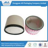 Tortenschachtel-Großverkauf-Papprunder Gefäß-Kasten mit freiem Fenster