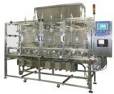 Machine d'embouteillage liquide linéaire avec les machines de écriture de labels remplissantes de pompe de rotor