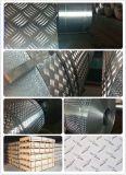 Barra Chequered di alluminio/dell'alluminio del piatto cinque per il pavimento