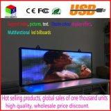 P5 RGB 풀 컬러 실내 LED 메시지 표시 광고를 위한 이동하는 두루말기 표시판