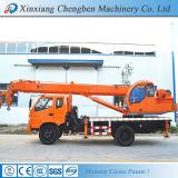 Meilleure mini grue hydraulique chinoise de remorque de camion de boum avec 12 mois de garantie