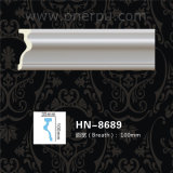 Corniche de polyuréthane de décoration de plafond d'unité centrale moulant Hn-8689