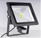 Luz de inundación del LED con la luz de inundación ligera al aire libre del sensor 10W LED de PIR