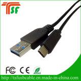 Tipo 100% de cable micro del USB del paso del control de calidad de la FCC RoHS del Ce cable de la transferencia de C