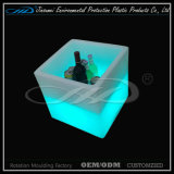 Benna di ghiaccio di plastica della mobilia del LED con il prezzo poco costoso
