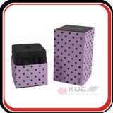 Vakje van de Gift van het Parfum van het Karton van het Document van het Af:drukken van de douane het Verpakkende