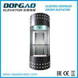 Elevador panorâmico Sightseeing da observação do vidro da boa qualidade