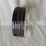 Arruelas de borracha de silicone Black NBR FKM PTFE / Vedante hidráulico Vee Packing