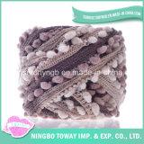 뜨개질을 하는 패턴 소모사 색깔 아이슬란드 셔닐 실 크로셰 뜨개질 공상 털실 (FY-001)