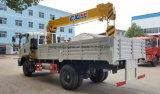 트럭 6개의 바퀴 소형 4 톤은 트럭 2 톤으로 기중기 거치했다