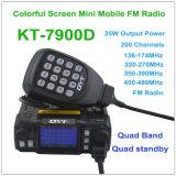 Kt-7900d UHF/VHF Qual Band-Vierradantriebwagen Reserve-CB Radio