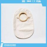 Ostomy使い捨て可能で不透明な二つの部分から成った閉じる袋(SKU2039057)