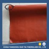 Ткань стеклоткани одиночного бортового силикона высокого качества Coated (ткань)
