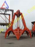 Грейферный ковш апельсиновой корки 4 веревочек для угля