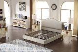 Китая Foshan спальни мебели кровать ткани наиболее поздно самомоднейшая мягкая