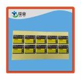 Etiqueta engomada adhesiva de papel colorida impresa