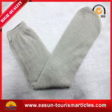 Chaussettes remplaçables de coton de polyester de couleur ordinaire simple de Deisign