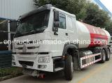 HOWO 10mt 6X4 24.8cbm 가스 배급 트럭