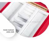 Rectángulo de regalo de madera retro de lujo de la joyería del almacenaje de la boda del MDF