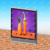 새로운 디자인 알루미늄 강철 구조물 태양 Signage 옥외 가벼운 상자