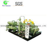 Compresor de gas de Freón con mantenimiento fácil del control automático del PLC